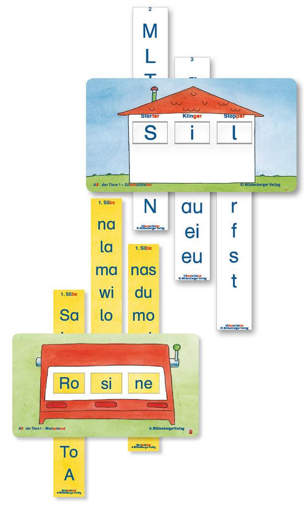 arbeitsblatt vorschule 187 silben lesen lernen gem228lde