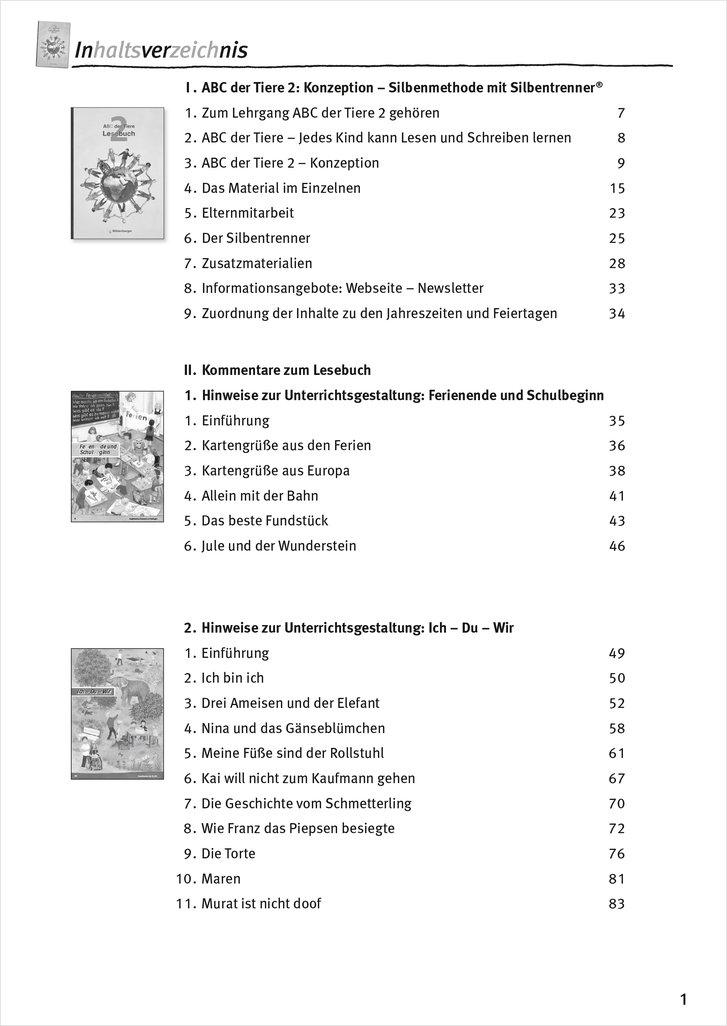 Arbeitsblätter Abc Der Tiere 1 : Mildenberger verlag gmbh abc der tiere lesebuch