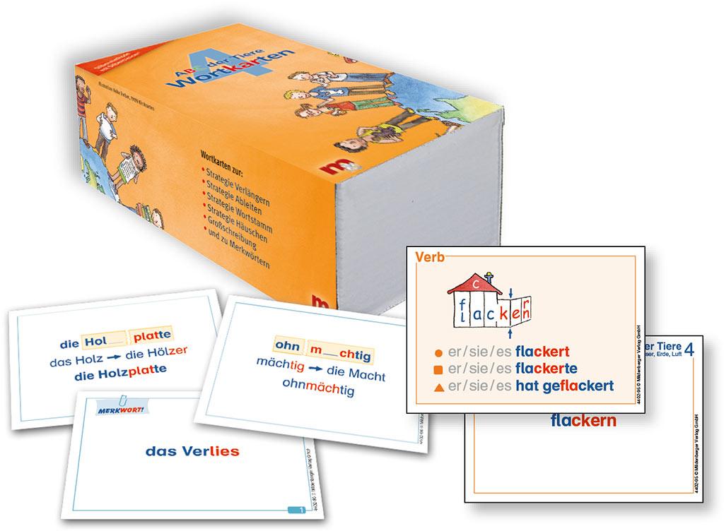 Mildenberger Verlag GmbH - ABC der Tiere 4 u2013 Wortkarten in ...