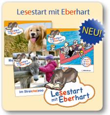 Lesestart mit Eberhart: Themenhefte für Erstleser
