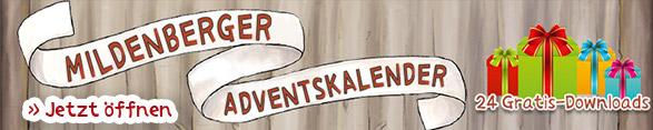 Mildenberger Adventskalender jetzt öffnen