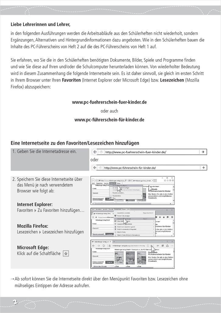 Mildenberger Verlag GmbH - PC-Führerschein für Kinder ...