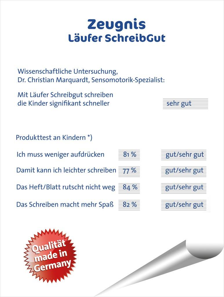 Mildenberger Verlag GmbH - Schreiblern-Unterlage, Farbe: Blau, VPE 1 ...
