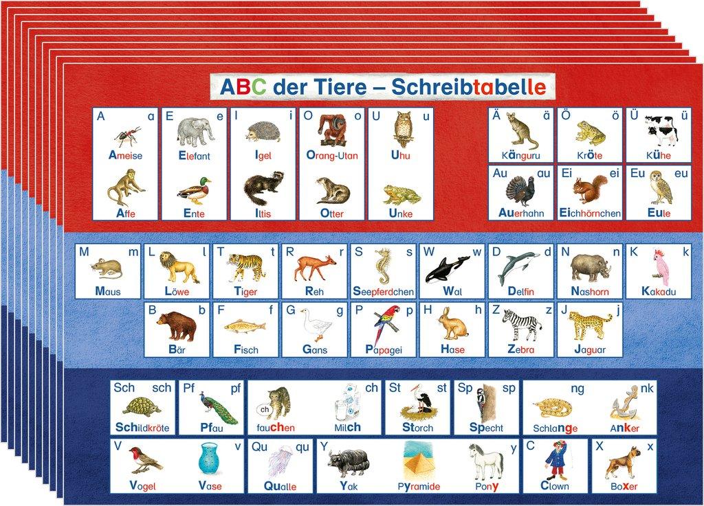 Perfect Haustiere Einer Tabelle Kindergarten Image Collection ...