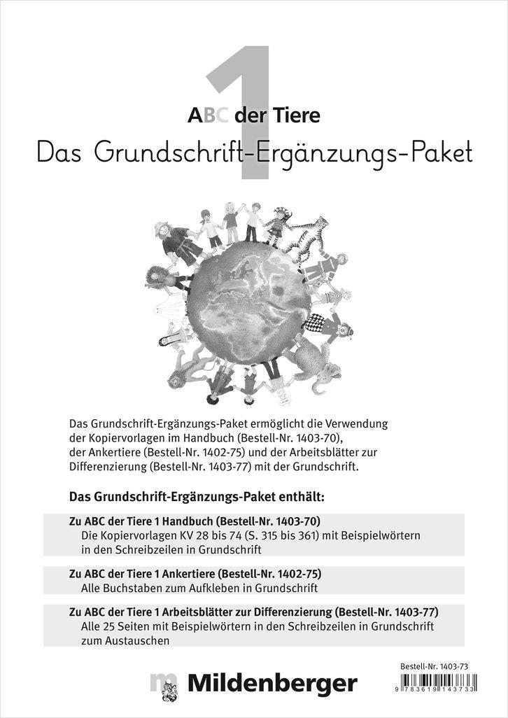 Mildenberger Verlag GmbH - ABC der Tiere 1 – Das-Grundschrift ...