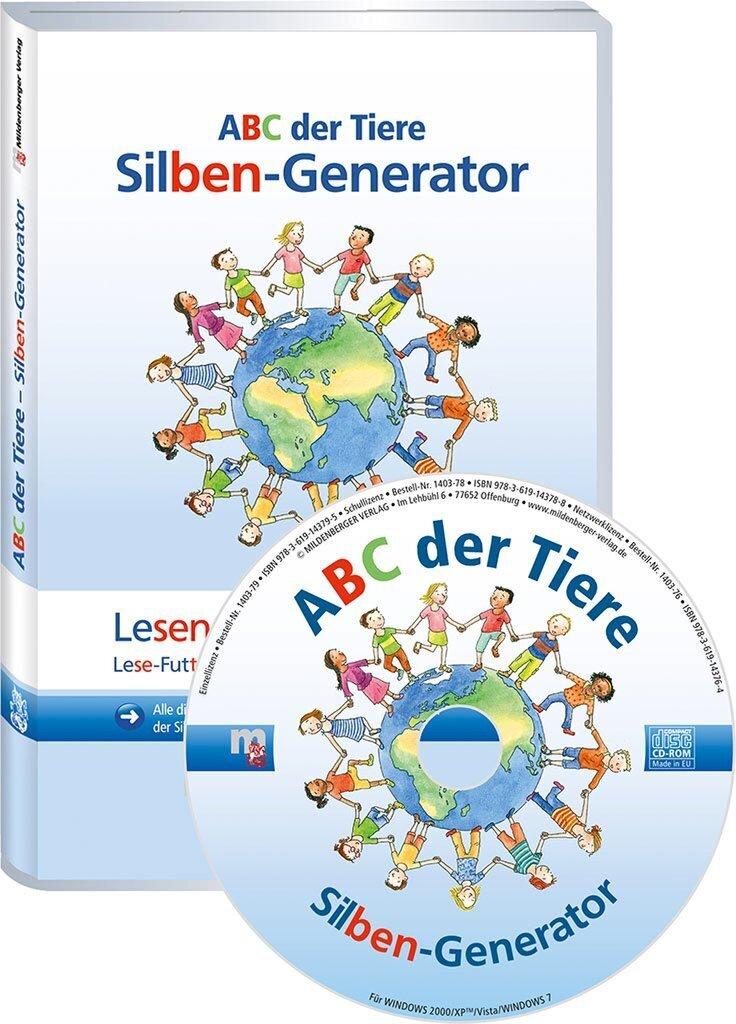 Mildenberger Verlag GmbH - ABC der Tiere – Silben-Generator für die ...