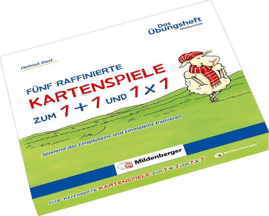 Mildenberger Verlag Gmbh Fünf Raffinierte Kartenspiele Zum 1 1 Und 1x1