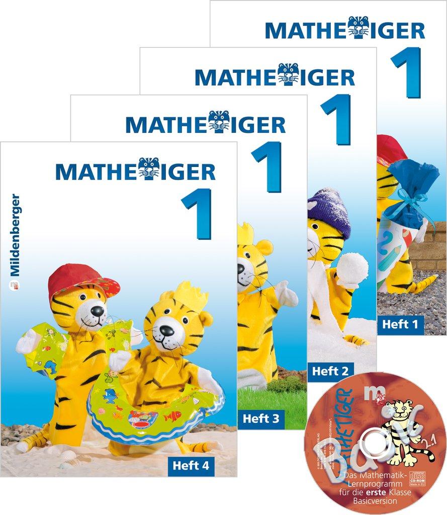 Mildenberger Verlag GmbH - Mathetiger 1 Jahreszeiten-Hefte, Klasse 1