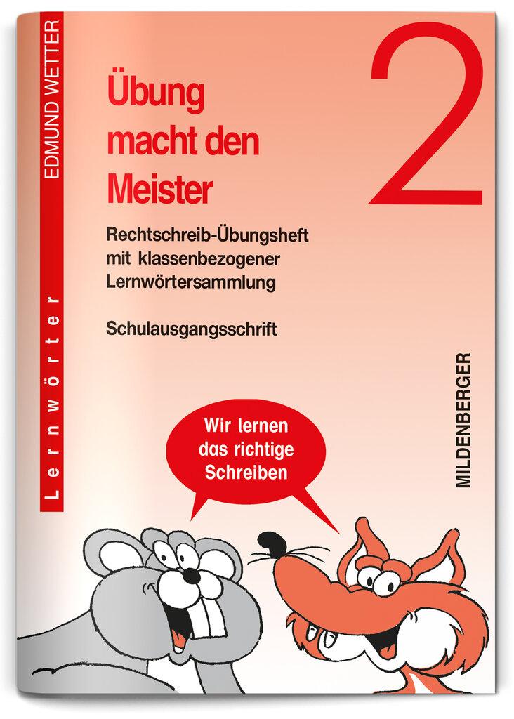 Mildenberger Verlag GmbH - Übung macht den Meister 2 (SAS), Klasse 2