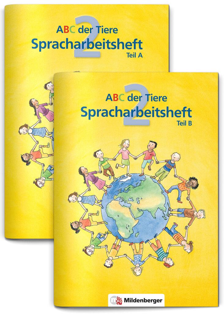 Mildenberger Verlag GmbH - ABC der Tiere 2 – Spracharbeitsheft, Teil ...