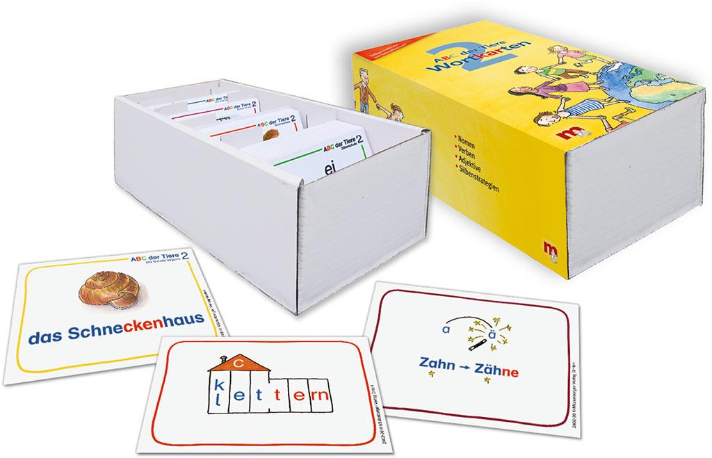 Mildenberger Verlag GmbH - ABC der Tiere 2 – Wortkarten in 5-Fächer ...