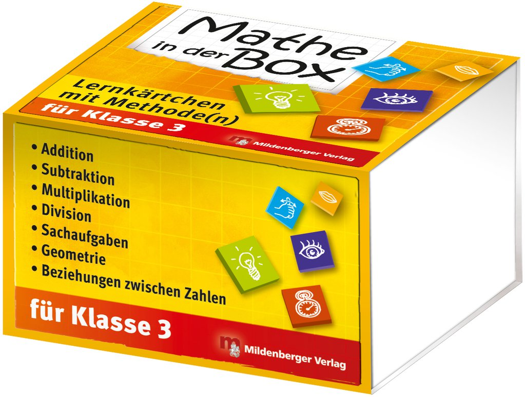 Mildenberger Verlag GmbH - Mathe in der Box – Lernkärtchen mit ...