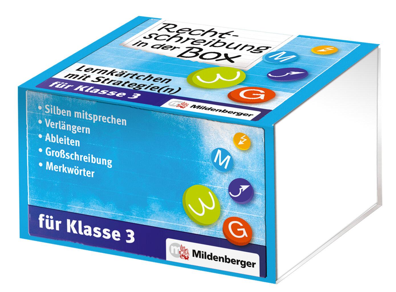 Mildenberger Verlag GmbH - Rechtschreibung in der Box – Lernkärtchen ...