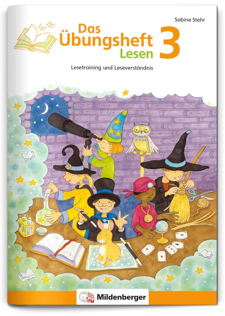 Mildenberger Verlag GmbH - Das Übungsheft Lesen 3