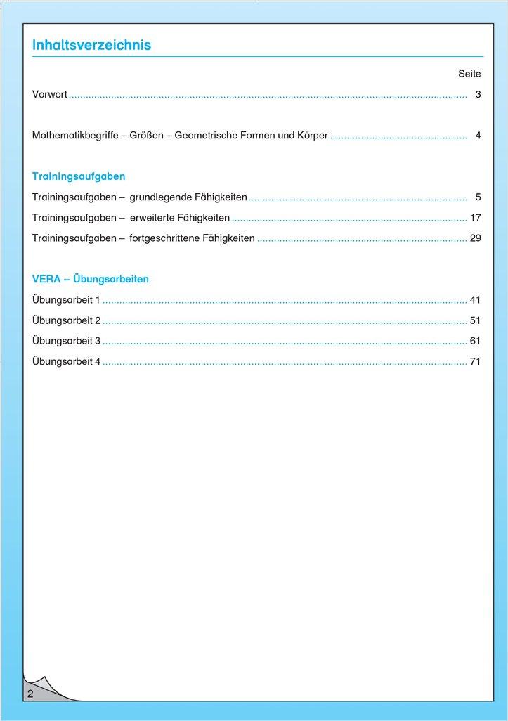 Mildenberger Verlag GmbH - Vorbereitung auf Vergleichsarbeiten an ...