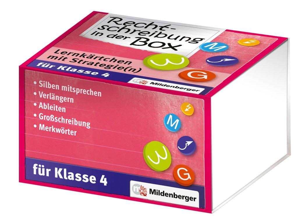Mildenberger Verlag GmbH - Rechtschreibung in der Box - Lernkärtchen ...