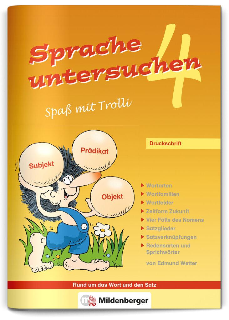Mildenberger Verlag GmbH - Sprache untersuchen – Spaß mit Trolli 4 ...