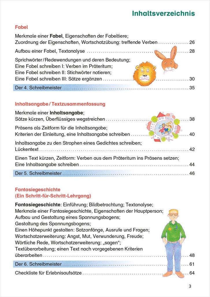 Mildenberger Verlag Gmbh Das übungsheft Texte Schreiben 4