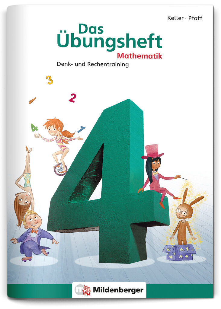 Mildenberger Verlag GmbH - Das Übungsheft Mathematik 4