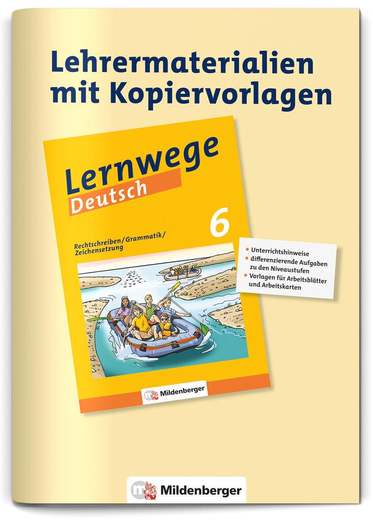 """Mildenberger Verlag GmbH - Lehrerservice """"Rechtschreiben / Grammatik ..."""