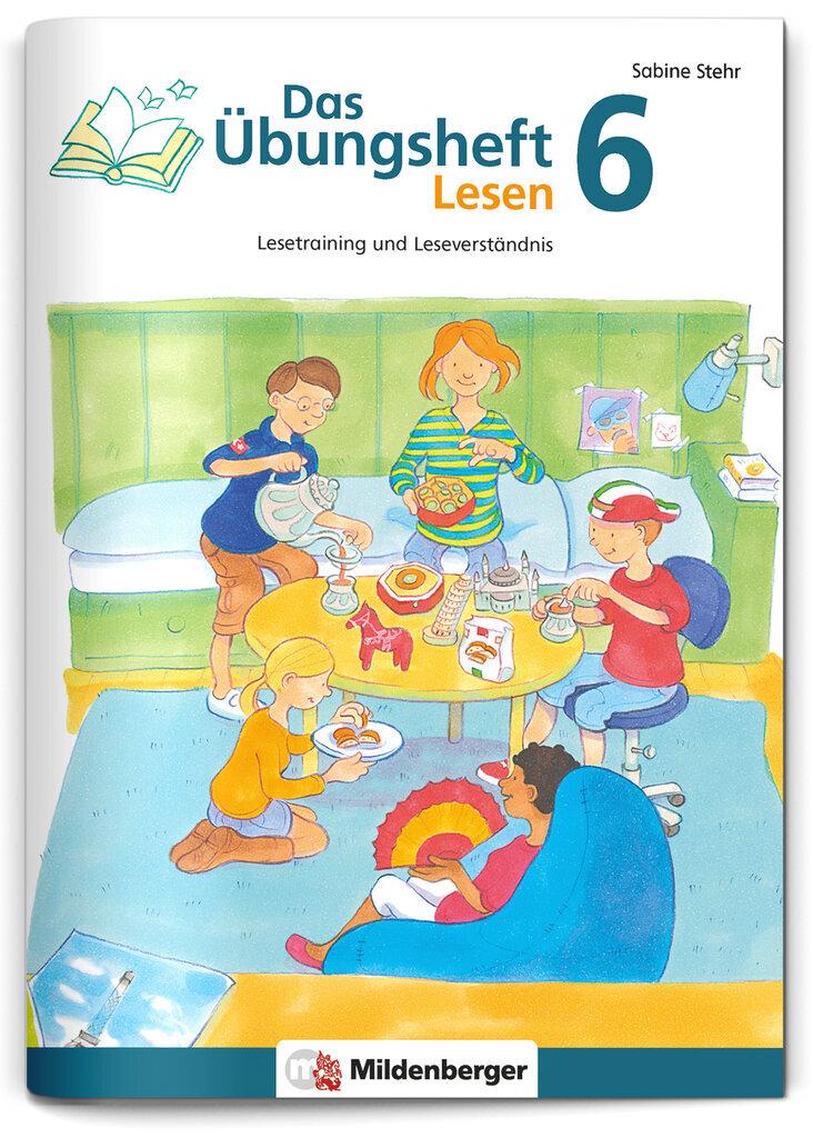 Mildenberger Verlag GmbH - Das Übungsheft Lesen 6