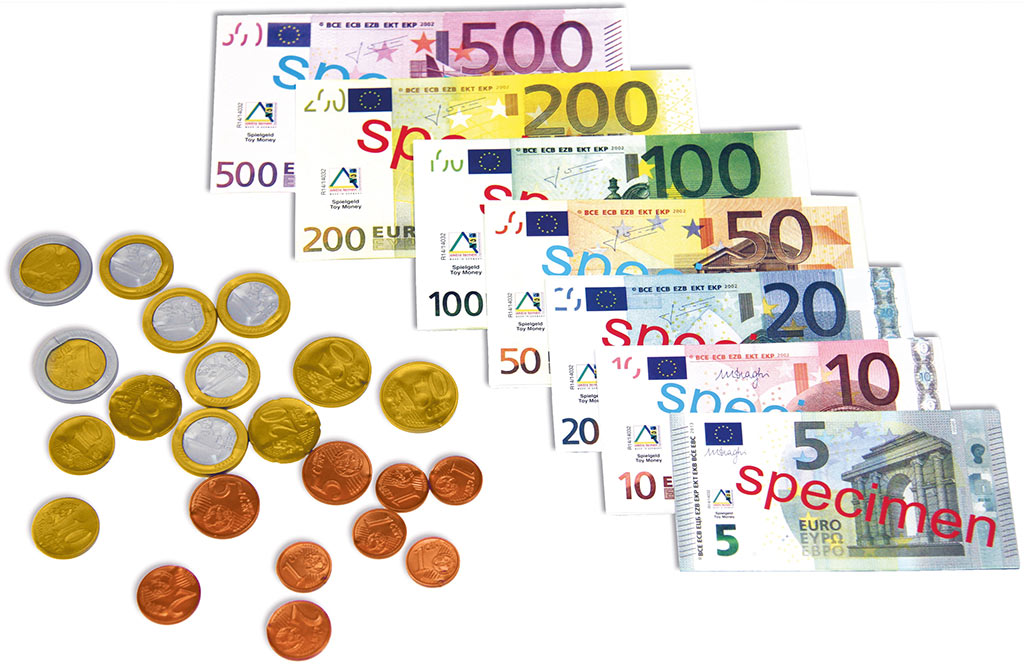 Mildenberger Verlag GmbH   Set Euro Rechengeld
