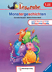 Titelbild: Leserabe Band 12: Monstergeschichten