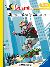 Titelbild: Leserabe – Agent Andy Action