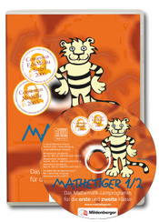 Titelbild: Sparangebot: Mathetiger 1/2 – Homeversion, Einzellizenz, CD-ROM