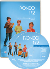 Titelbild: RONDO 1/2 – Instrumental-Arrangements , 2 CDs