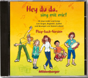 Titelbild: Hey,du da, sing mit mir! CD Play-back-Version