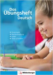 Prospekt: Das Übungsheft Deutsch Klasse 1 bis 4