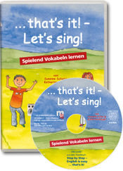 Titelbild: ... that`s it! – Let's sing! – Audio-CD