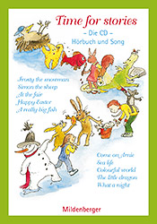 Titelbild: Time for stories – Die CD, Lieder und Texte zu den Heften 1 – 10