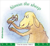 Titelbild: Time for stories, Heft 2: Simon the sheep (VPE 25 Stk.)