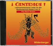 Titelbild: iCantemos! – Lateinamerikanische Lieder auf CD, Play-back-Version