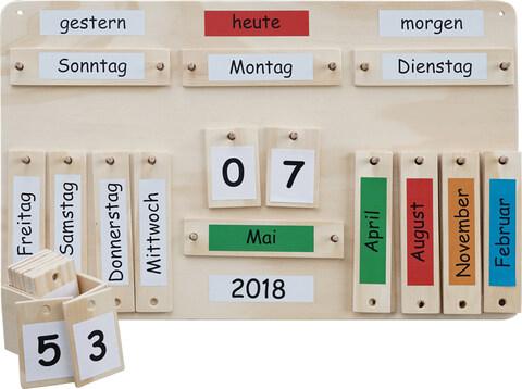 Bild: Jahreskalender aus Holz