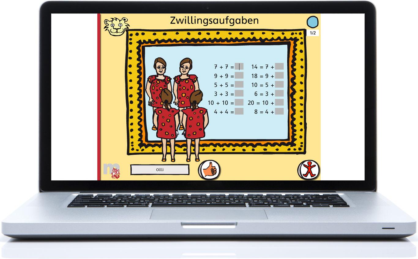 Online-Lernspiel