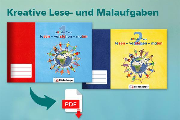 Neue Lernpakete für Deutsch: ABC der Tiere