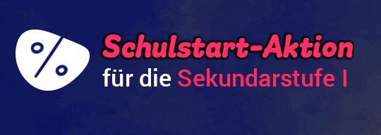 Mildenberger Schulstart-Aktion für die Sekundarstufe I