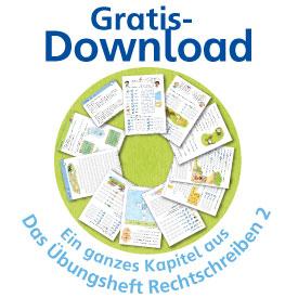 """Gratis-Download: Ein ganzes Kapitel aus """"Das Übungsheft Rechtschreiben 2"""""""