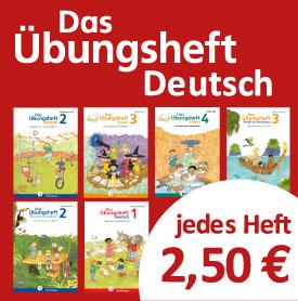 """Nur noch heute: Prüfpakete """"Das Übungsheft Deutsch"""" für nur 2,50 €"""
