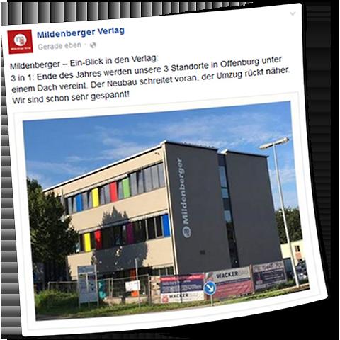 Bild: Mildenberger Firmengebäude