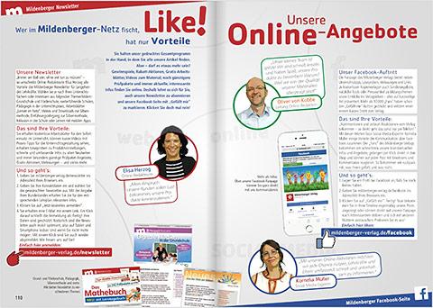 EinBlick: Unsere Online-Angebote