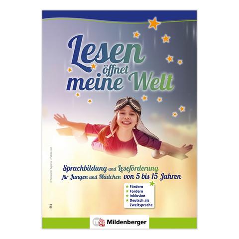 """Prospekt """"Lesen öffnet meine Welt"""""""