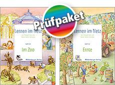 """Prüfpaket: Lernen im Netz, Hefte """"Ernte"""" und """"Im Zoo"""""""