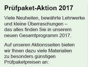 Zur Prüfpaket-Aktion 2017