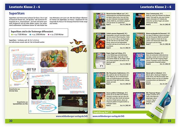 Lesetexte für Klasse 2 bis 6