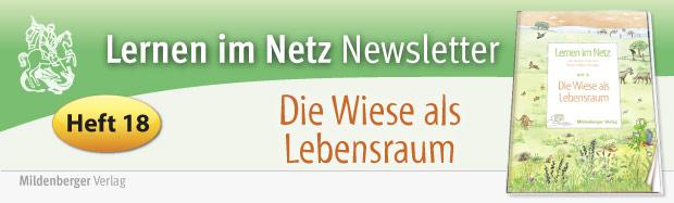 Lernen im Netz, Heft 18: Die Wiese als Lebensraum