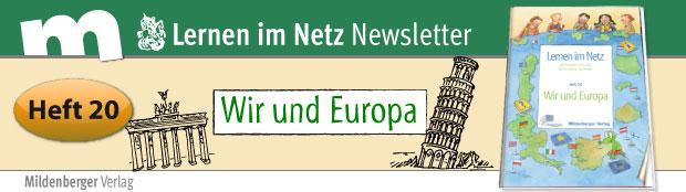 Heft 20: Wir in Europa